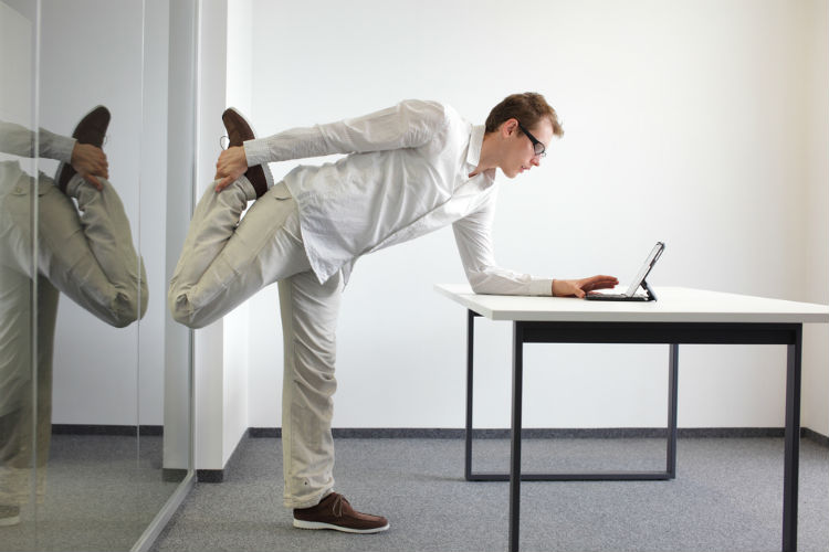 5 Easy Exercises to Do at the Office